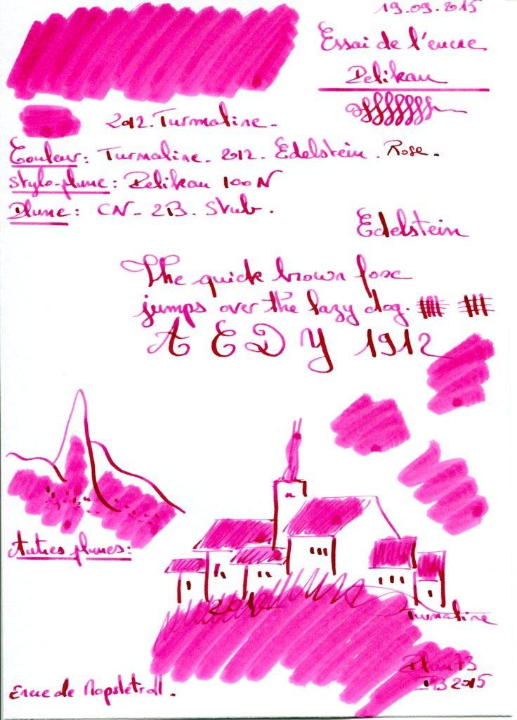 Turmaline Ink edelstein