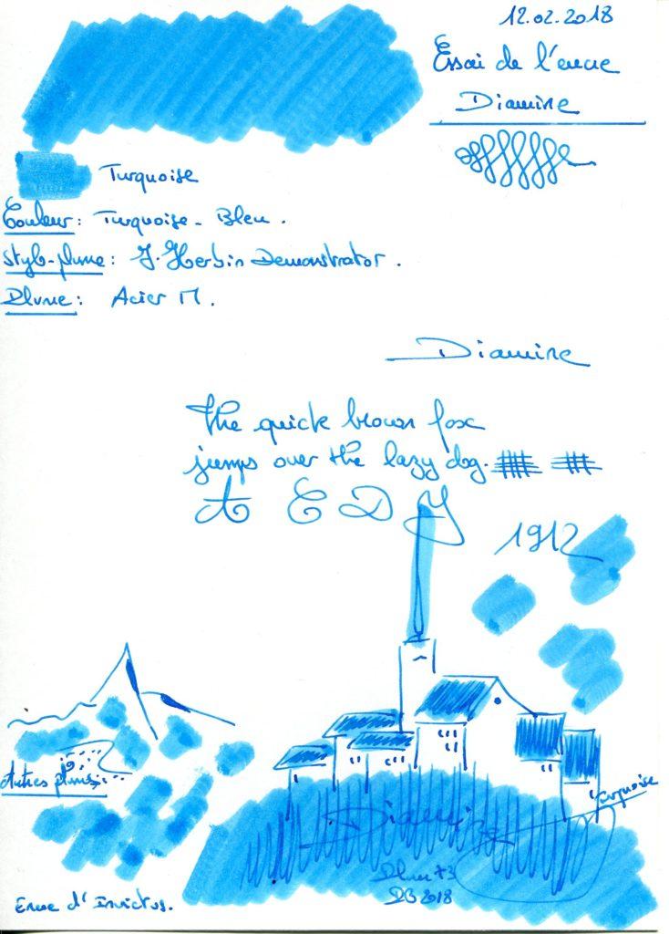Turquoise Ink Diamine