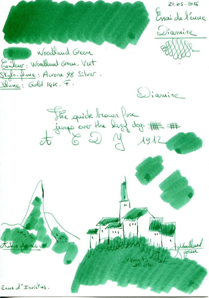 Woodland Ink Diamine