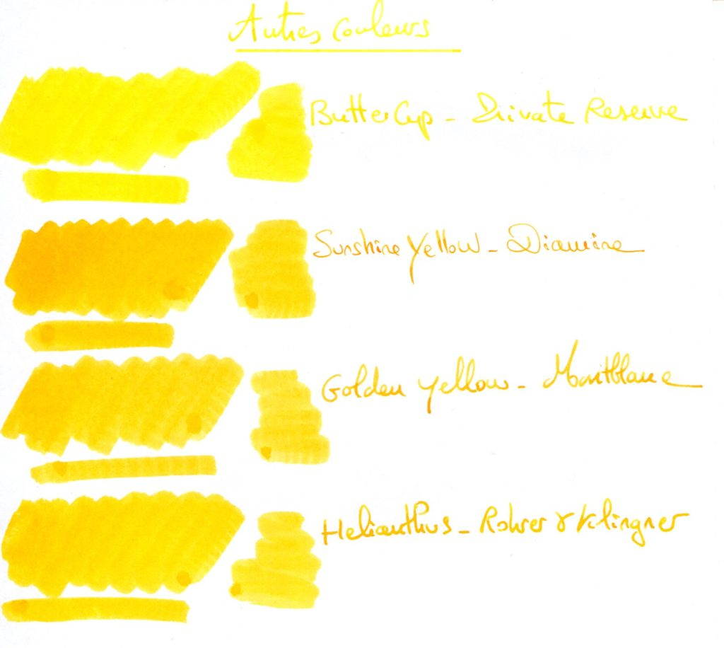 Yellow ink 1