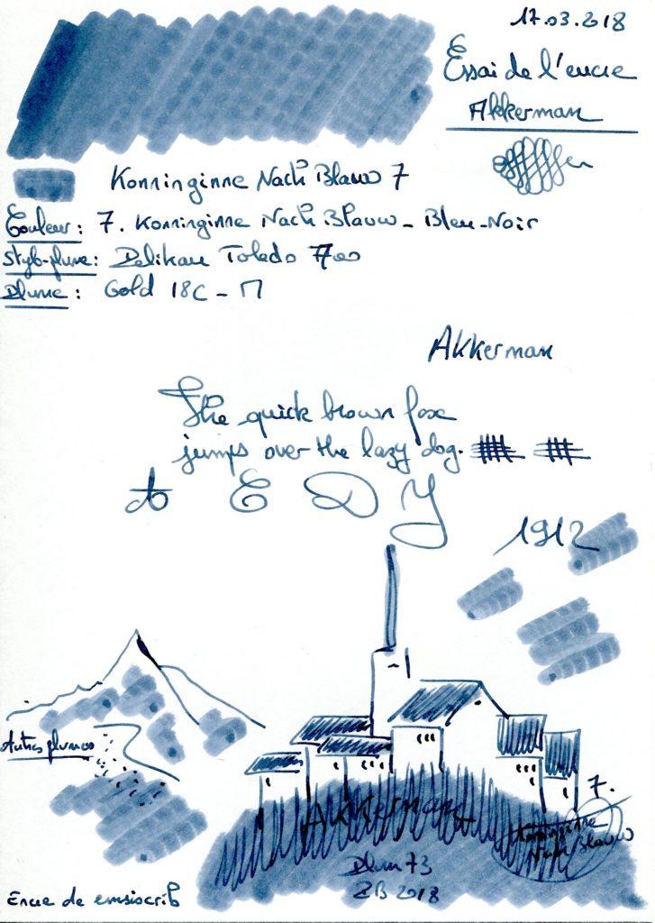7 Konninginne Nach Blauw Ink Akkerman
