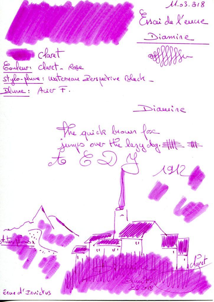 Claret Ink Diamine