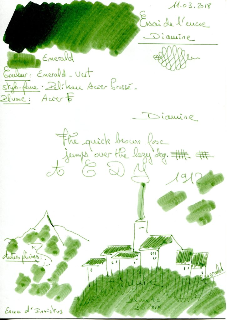Emerald Ink Diamine