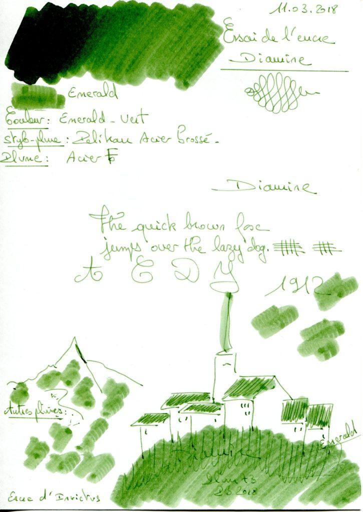 Emerald Ink Diamine