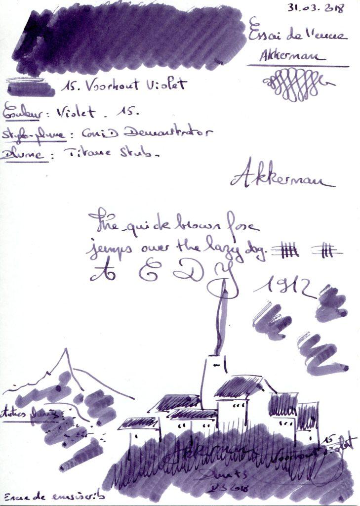 15. Voorhout Violet Ink Akkerman