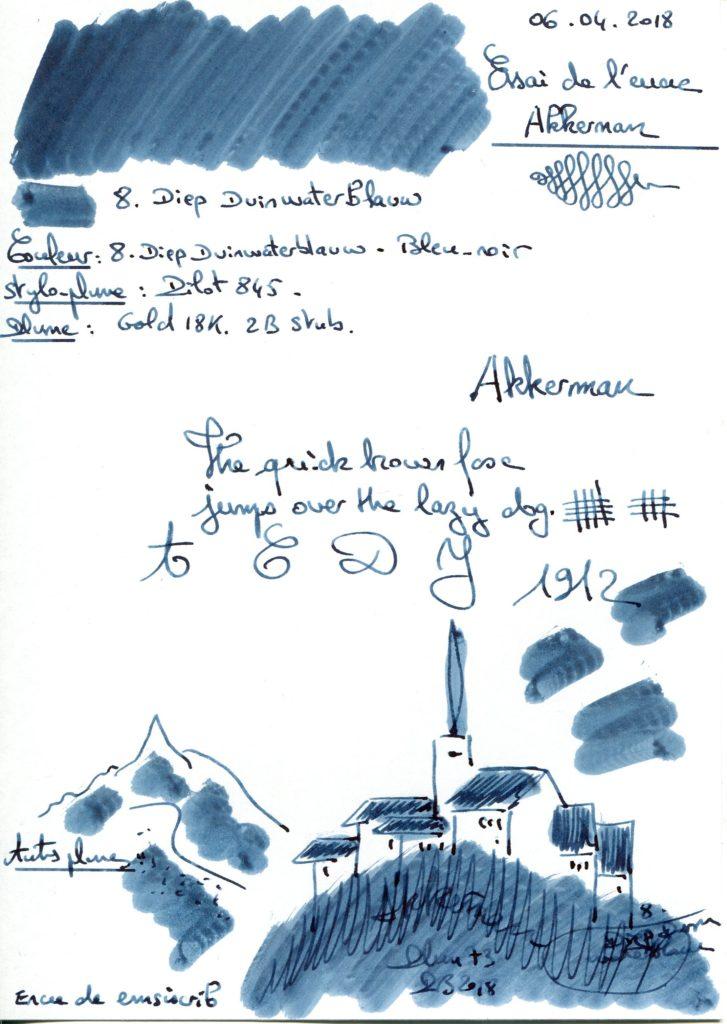 8. Diep DWBlauw Ink Akkerman