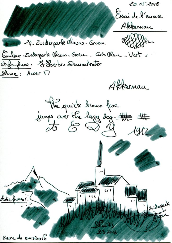 24. Zuiderpark Blauw-groen Ink Akkerman