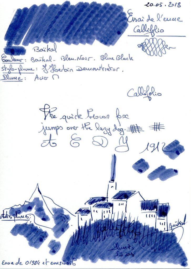Baikal Ink Callifolio
