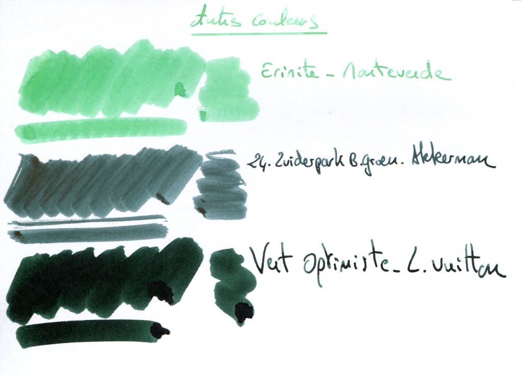 Green ink 9
