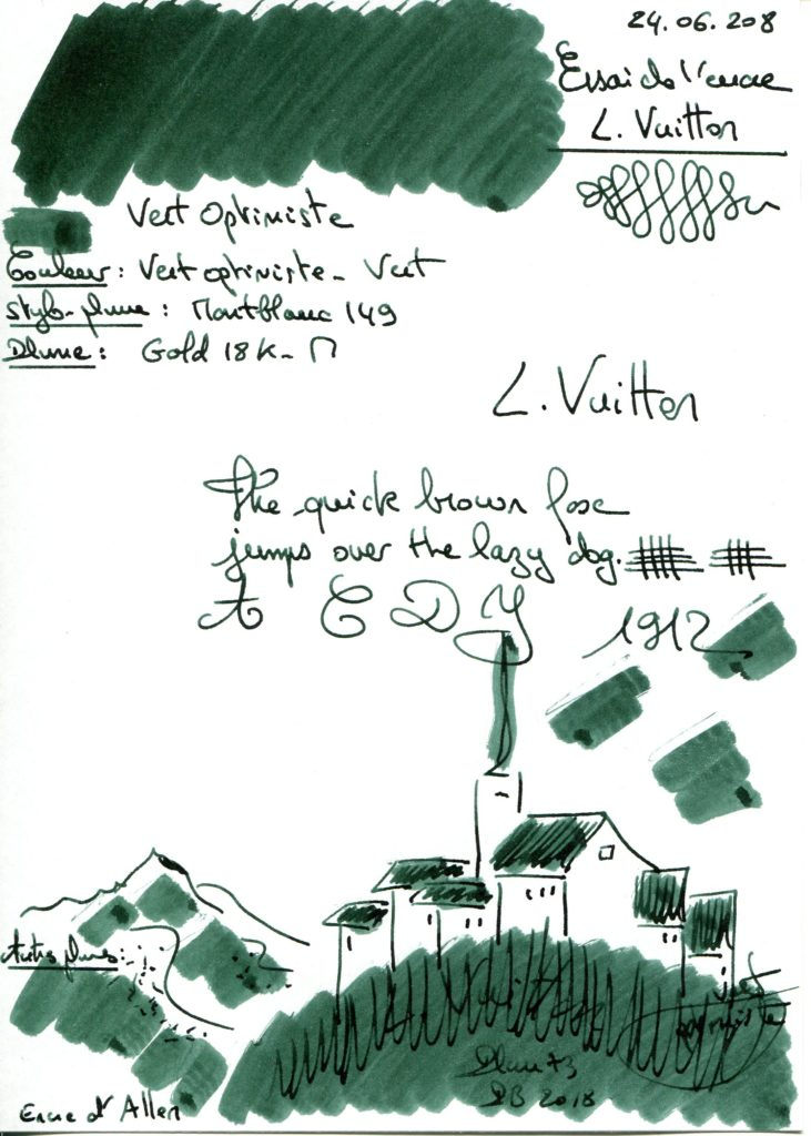 Vert Optimiste Ink Louis Vuitton