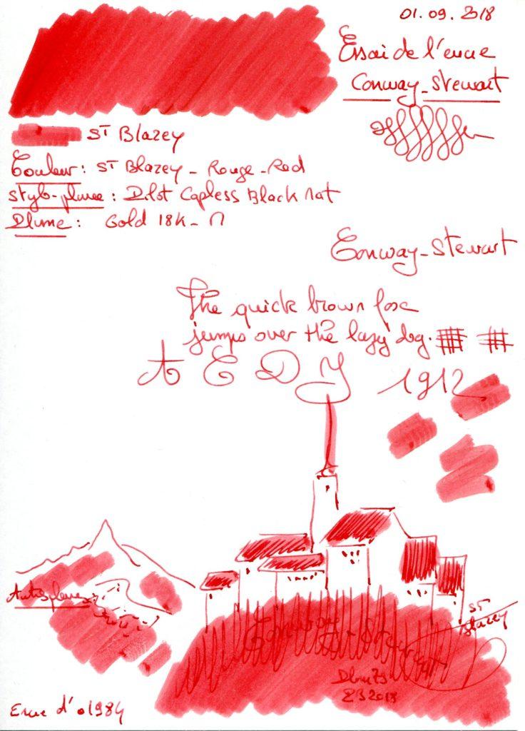 St Blazey Ink Conway Stewart