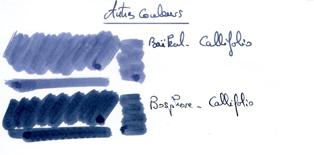 Blue Black Ink 4