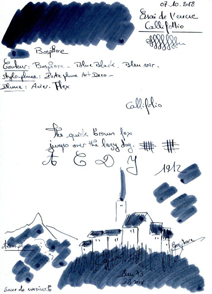 Bosphore Ink Callifolio