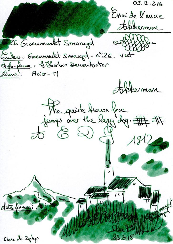 26 Groenmarkt Smaragd Ink Akkerman