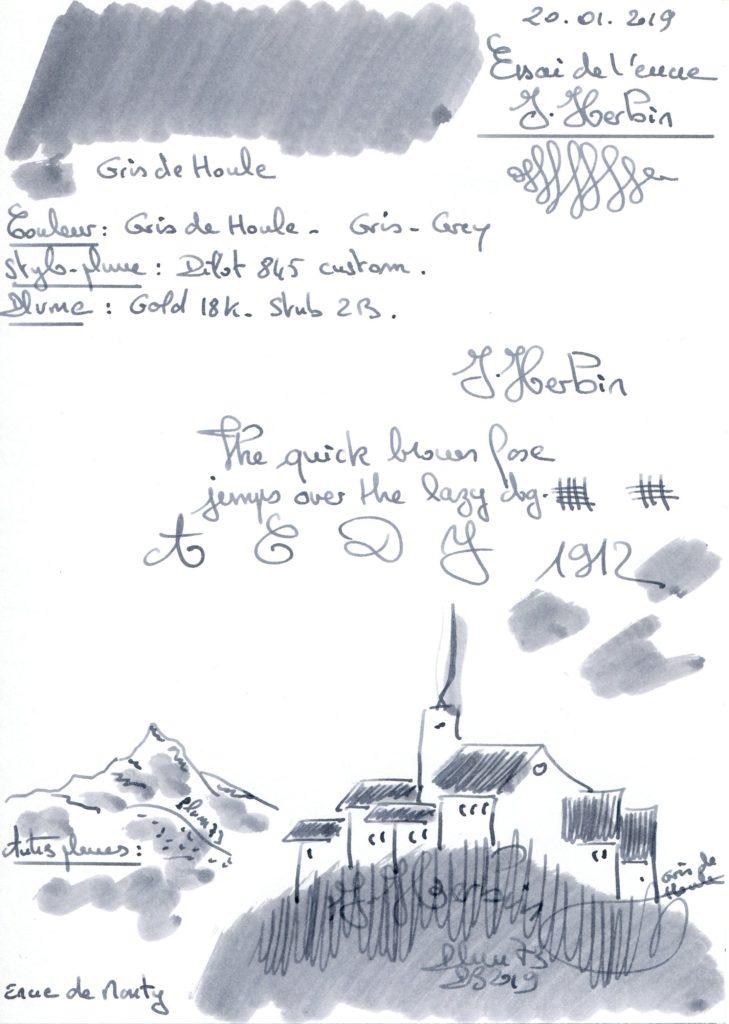 Gris de Houle Ink J. Herbin