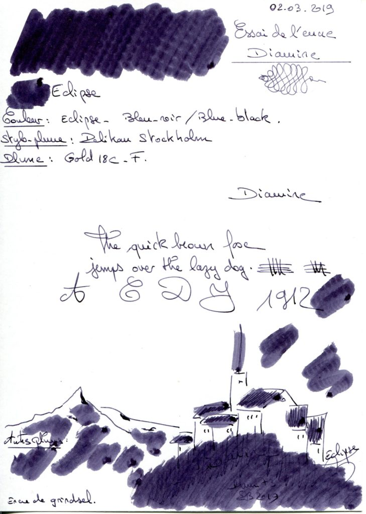 Eclipse Ink Diamine