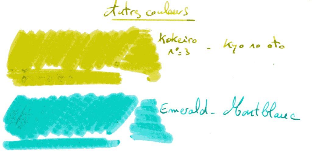 Comparatif Vert 10