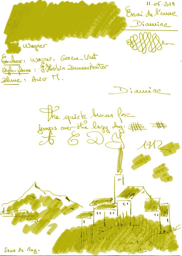 Wagner Ink Diamine