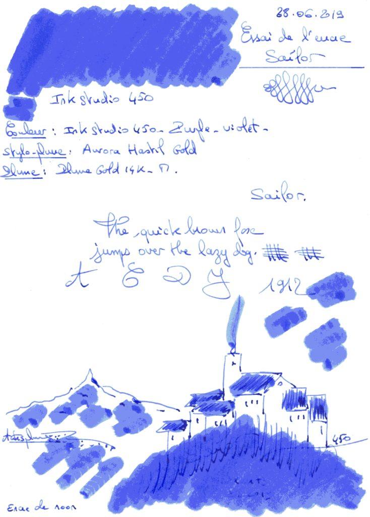 Ink Studio 450 Ink Sailor