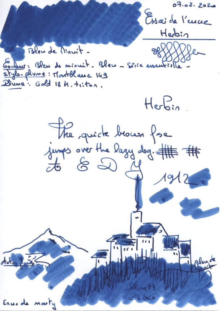 Bleu de Minuit Ink Herbin