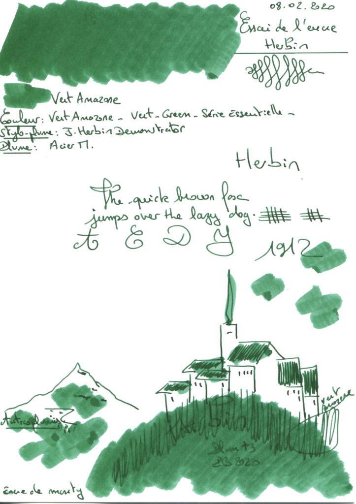 Vert Amazone Ink Herbin