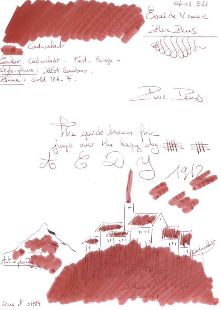 Cadwaladr Ink Pure Pens