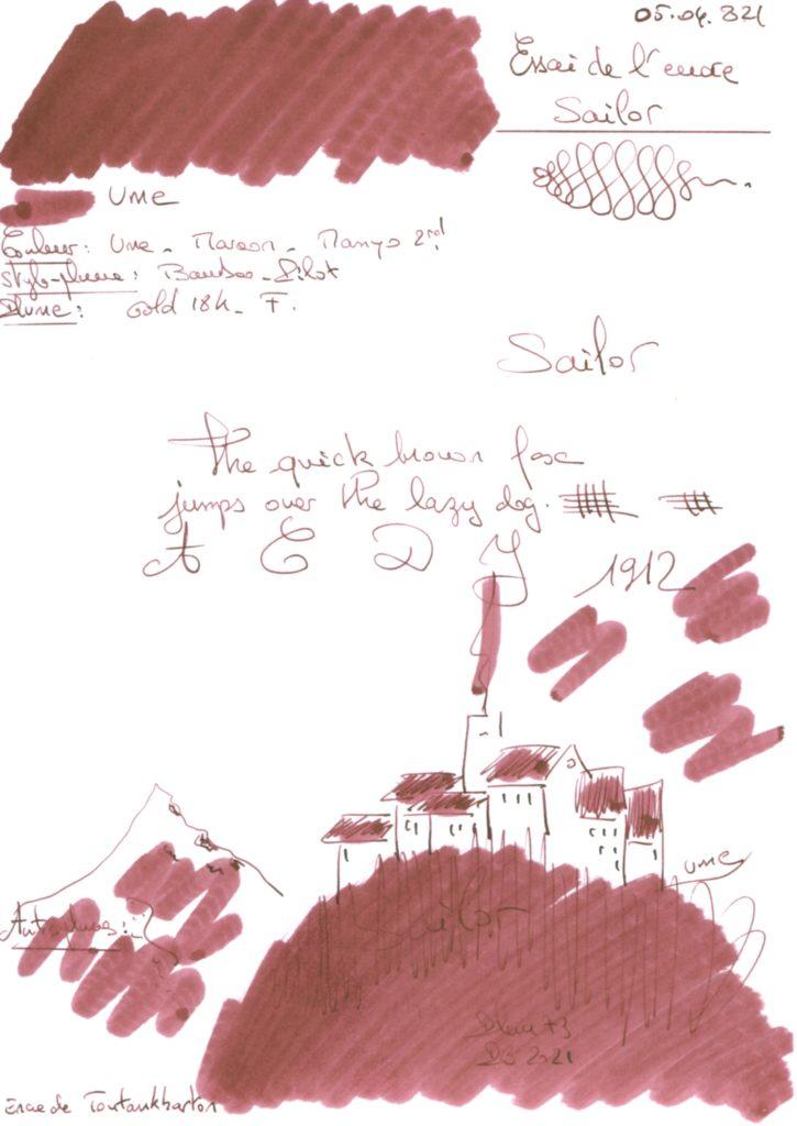 Ume Ink Sailor Manyo