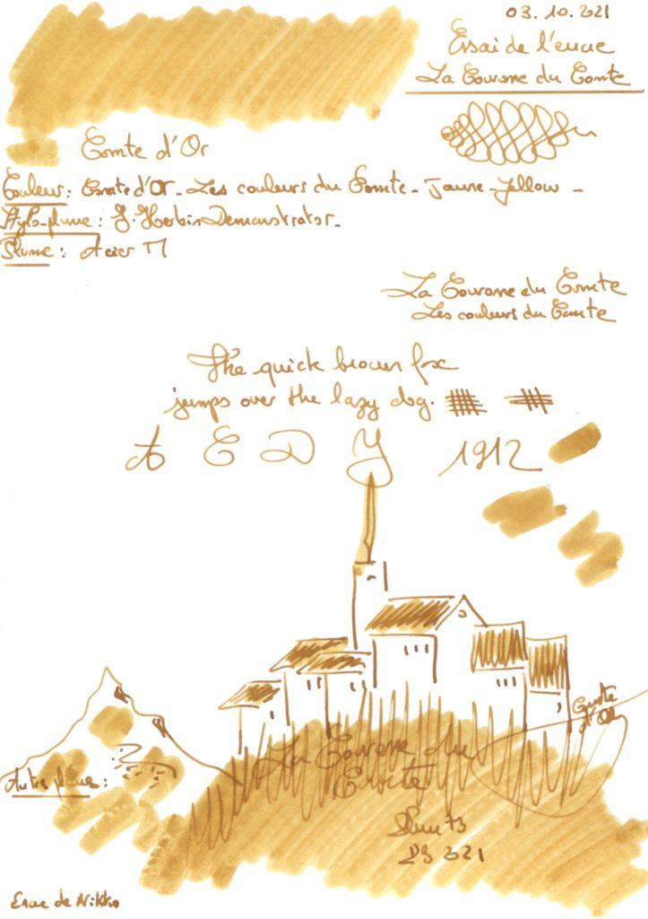 Comte d'Or Ink La Couronne du Comte